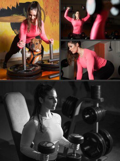 Carla Bolstridge Working Out